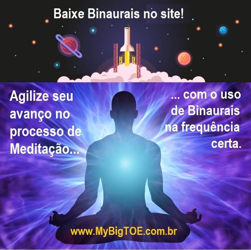 Receba GRÁTIS Sons Binaurais Para Meditar Com Mais Facilidade!
