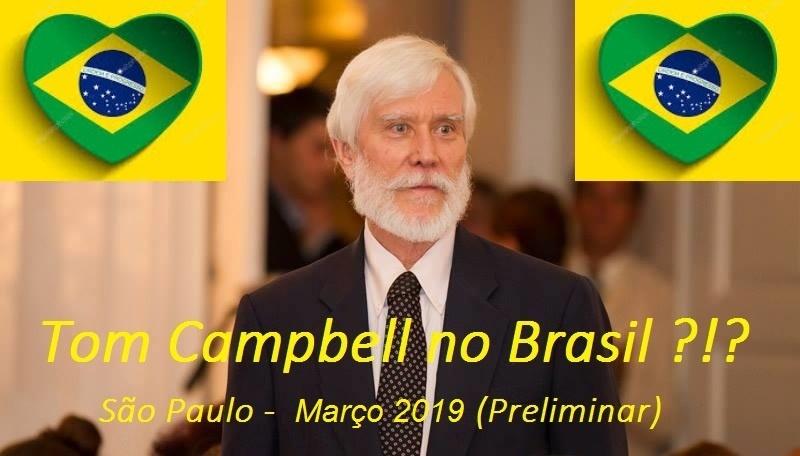 WEBINÁRIO GRATUITO – PREPARAÇÃO PARA A VINDA DE TOM CAMPBELL AO BRASIL